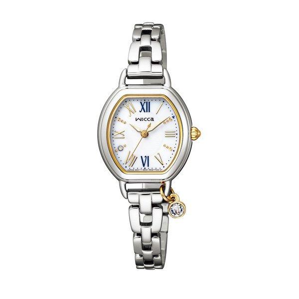 CITIZEN WICCA シチズン ウィッカ ソーラーテック レディース腕時計 KP2-515-13