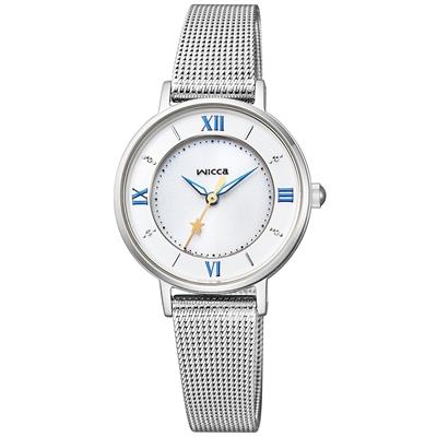 CITIZEN WICCA シチズン ウィッカ ソーラーテック メッシュバンドモデル レディース腕時計 KP3-465-11