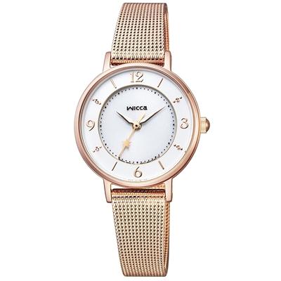 CITIZEN WICCA シチズン ウィッカ ソーラーテック メッシュバンドモデル レディース腕時計 KP3-465-13