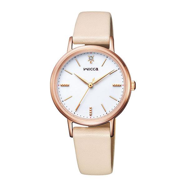 CITIZEN WICCA シチズン ウィッカ ソーラーテック レディース腕時計 KP5-166-10