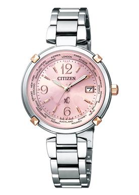 CITIZEN シチズン xC クロスシー エコドライブ電波時計 ハッピーフライト レディース腕時計 EC1044-55W