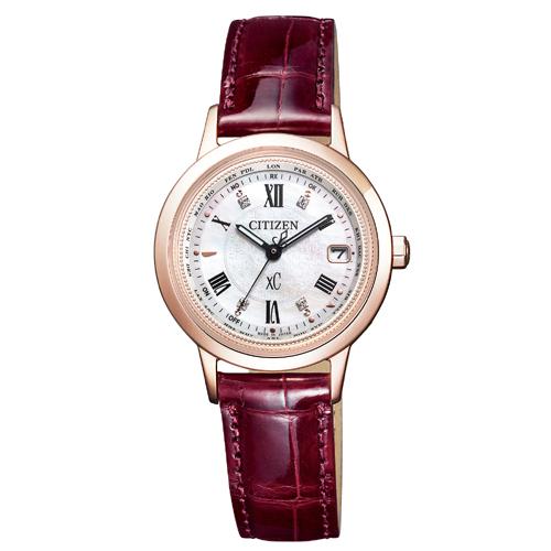 CITIZEN XC シチズン クロスシー エコドライブ 電波時計 サクラピンク Titania Line Happy Flight レディース腕時計 EC1144-00W