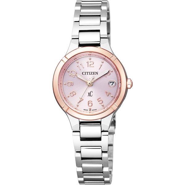 CITIZEN XC シチズン クロスシー ハッピーフライト 電波時計 レディース腕時計 ES8084-59X