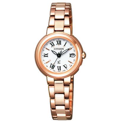 CITIZEN XC シチズン クロスシー ワールドタイム電波時計 ハッピーフライト レディース腕時計 ES9002-58A