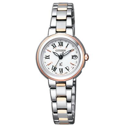CITIZEN XC シチズン クロスシー ワールドタイム電波時計 ハッピーフライト レディース腕時計 ES9004-52A