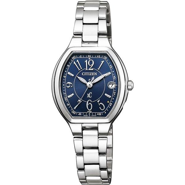 CITIZEN XC シチズン クロスシー ハッピーフライト ステンレス シルバー レディース腕時計 ES9360-58L
