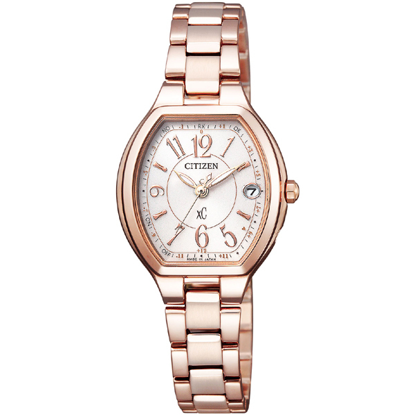 CITIZEN XC シチズン クロスシー ワールドタイム電波時計 レディース腕時計 ES9362-52W