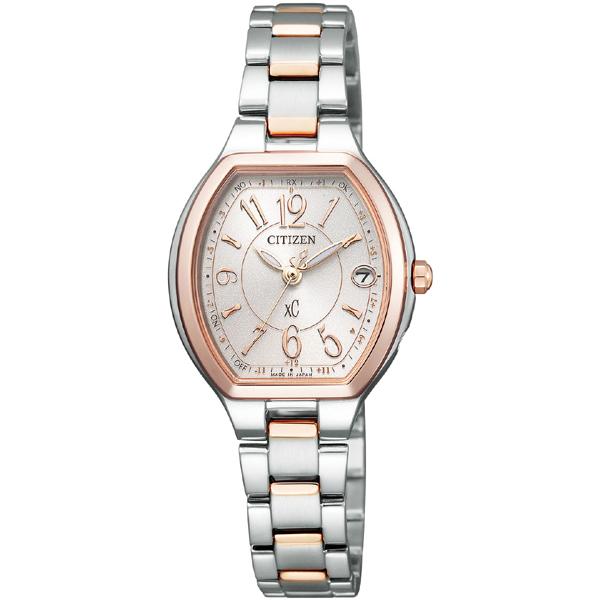 CITIZEN XC シチズン クロスシー ワールドタイム電波時計 レディース腕時計 ES9364-57A