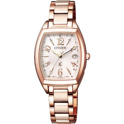 CITIZEN XC シチズン クロスシー エコドライブ 電波時計 ハッピーフライト レディース腕時計 ES9392-51W
