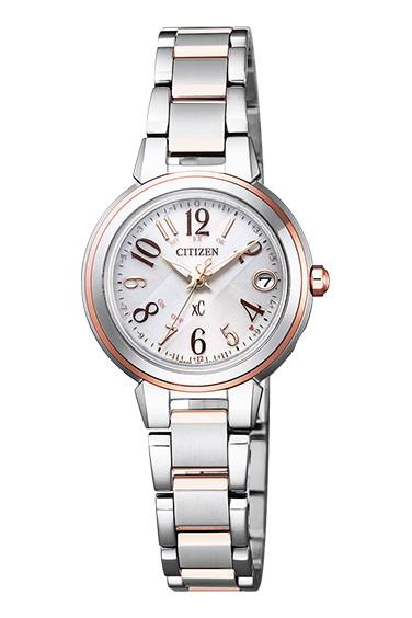 CITIZEN XC シチズン クロスシー エコドライブ 電波時計 ハッピーフライト レディース腕時計 ES9434-53X
