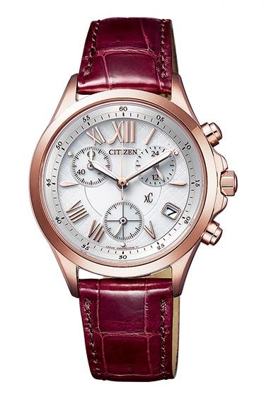 CITIZEN XC シチズン クロスシー エコドライブ クロノグラフ レディース腕時計 FB1405-07A