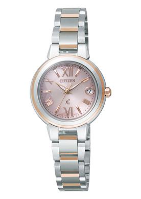 CITIZEN XC シチズン クロスシー エコドライブ 電波時計 MINISOL ミニソル レディース腕時計 XCB38-9133