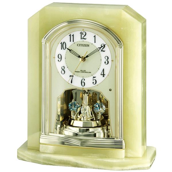 CITIZEN シチズン リズム時計 クロック 電波置き時計 パルラフィーネR691 4RY691-005