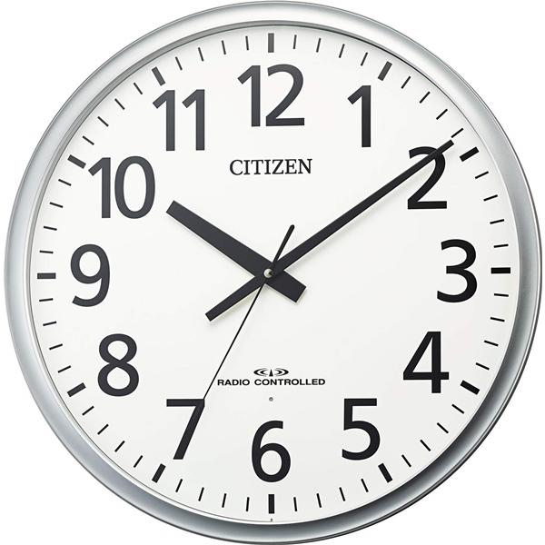 CITIZEN シチズン リズム時計 クロック 電波掛け時計 新作アイテム毎日更新 連続秒針 シンプル 8MY547-019 国内即発送 大型 屋内用 パブリック