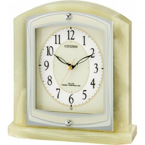 Citizen CITIZEN rhythm clock radio clock parrafine R400 8RY400-005
