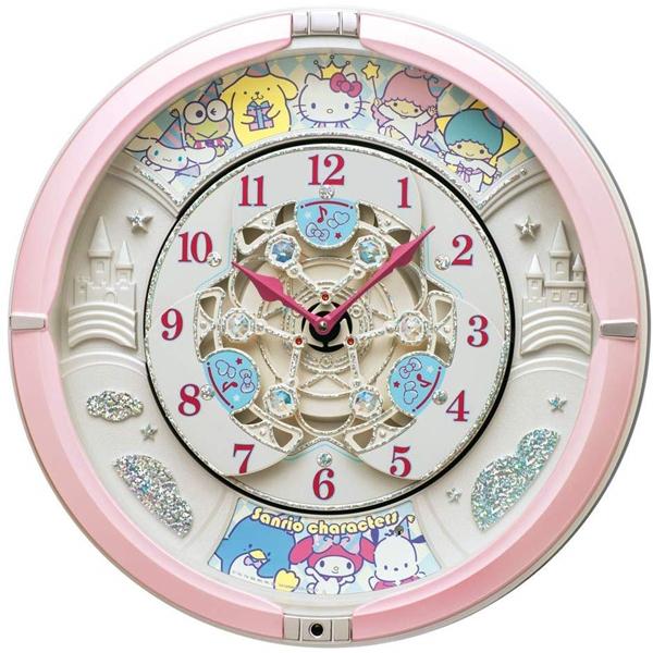 SEIKO セイコー クロック 掛け時計 メロディ付 サンリオ CQ222P