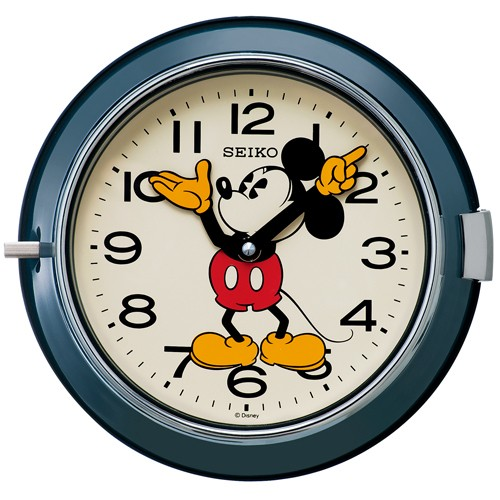 SEIKO セイコー クロック 大人ディズニー ミッキーマウス クオーツ掛け時計 FS504L