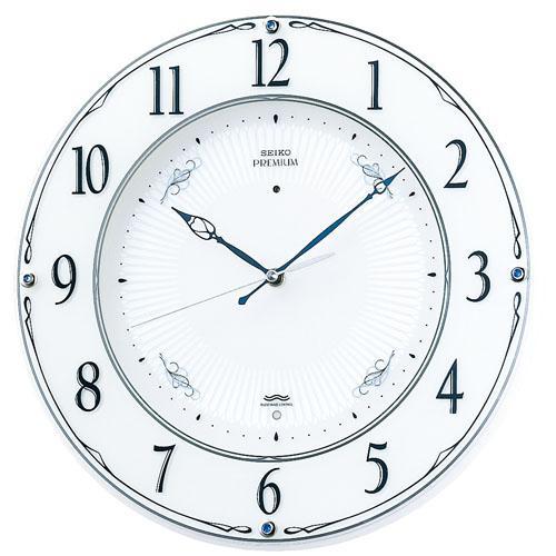 SEIKO セイコー クロック ナチュラルスタイル 電波掛け時計 LS230W