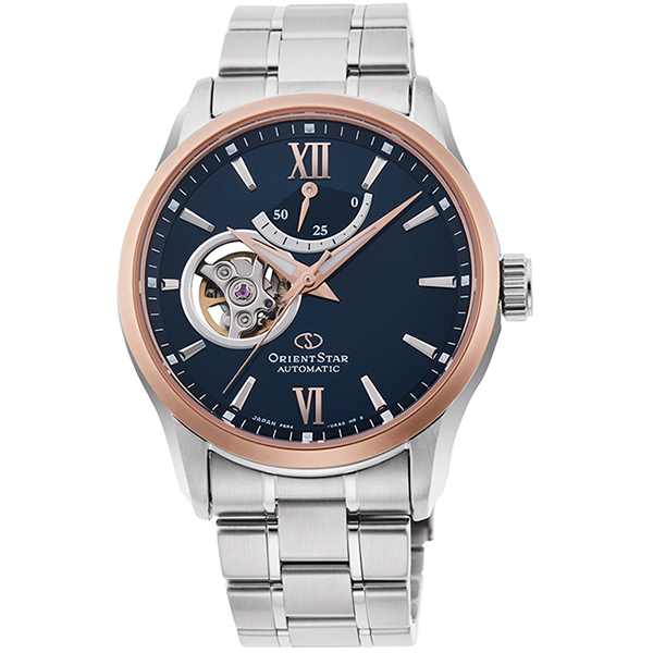 ORIENT STAR オリエントスター コンテンポラリー シースルーバック 自動巻手巻付 メンズ腕時計 RK-AT0008L