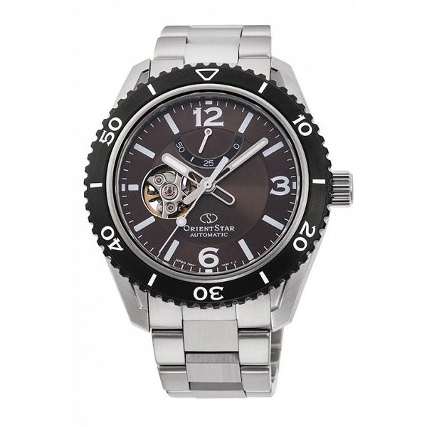 ORIENT STAR オリエントスター 機械式 自動巻き メカニカル シースルーバック メンズ腕時計 RK-AT0102Y