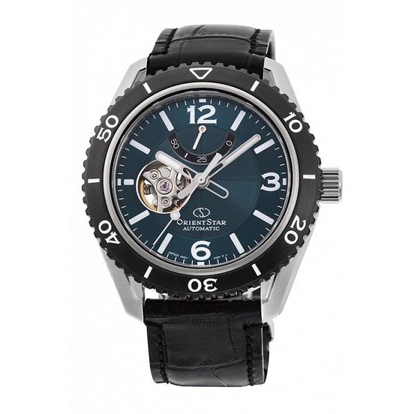 ORIENT STAR オリエントスター 機械式 自動巻き メカニカル シースルーバック メンズ腕時計 RK-AT0104E