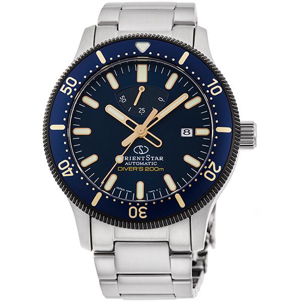 ORIENT STAR オリエントスター ダイバー 200気圧防水 自動巻手巻付 メンズ腕時計 RK-AU0304L