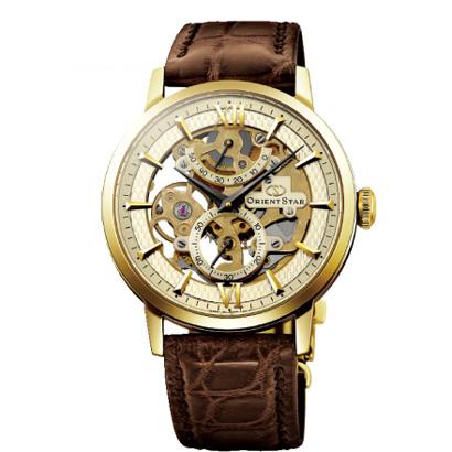 ORIENT STAR オリエントスター 自動巻き腕時計 シースルーバック メンズ腕時計 WZ0031DX