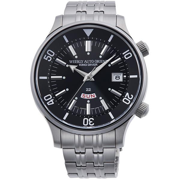 ORIENT オリエント King Diver 復刻モデル 70周年記念 ブラック 数量限定 国内限定 1500本 メンズ腕時計 RN-AA0D01B