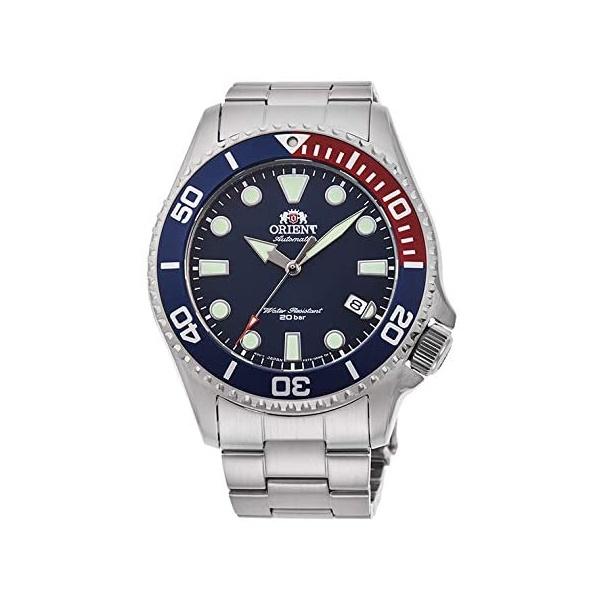 ORIENT オリエント 機械式 自動巻 ステンレス スポーツ ブルー 日本製 メンズ腕時計 RN-AC0K03L