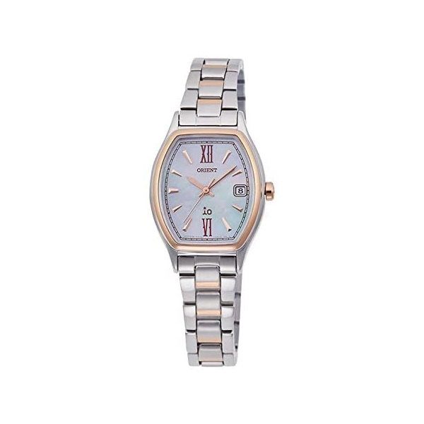 ギフ_包装 サイズ調整無料 ORIENT オリエント イオ ライトチャージ RN-WG0010A レディース腕時計 SALE開催中 白蝶貝
