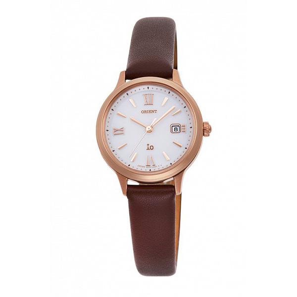 サイズ調整無料 最新 ORIENT オリエント io イオ ソーラー 営業 レディース腕時計 RN-WG0410S 5気圧防水