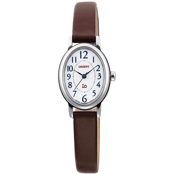 サイズ調整無料 ORIENT オリエント イオ ソーラー充電 レディース腕時計 買物 WI0491WD 日本正規品 革バンド
