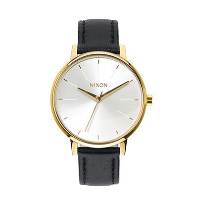NIXON KENSINGTON LEATHER ニクソン ケンジントンレザー GOLD/WHITE/BLACK レディース腕時計 NA1081964-00