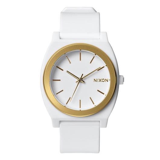 NIXON TIME TELLER P ニクソン タイムテラーP WHITE/GOLD ANO ユニセックス腕時計 NA1191297-00