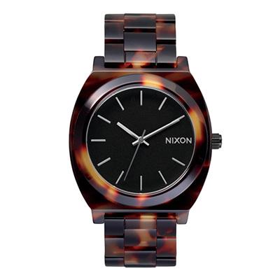 NIXON TIME TELLER ACETATE ニクソン タイムテラー アセテート TORTOISE ユニセックス腕時計 NA327646-00