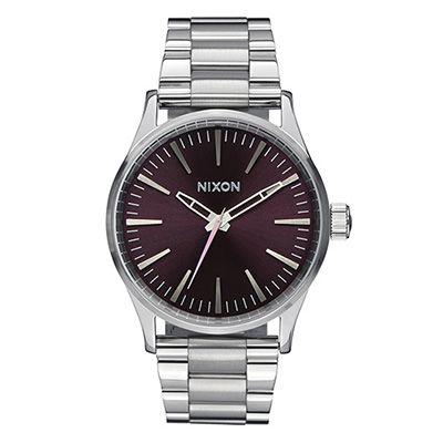 NIXON SENTRY SS ニクソン セントリーSS BLUE SUNRAYユニセックス腕時計 NA3561258-00