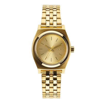 NIXON SMALL TIME TELLER ニクソン スモールタイムテラー ALL GOLD レディース腕時計 NA399502-00