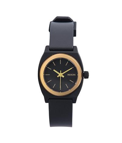NIXON SMALL TIME TELLER P ニクソン スモールタイムテラーP BLACK/GOLD ANO 日本限定カラー レディース腕時計 NA4252030-00