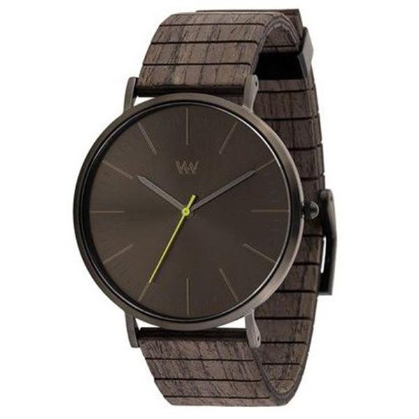 WEWOOD ウィーウッド 天然木 ダークブラウン メンズ腕時計 9818201