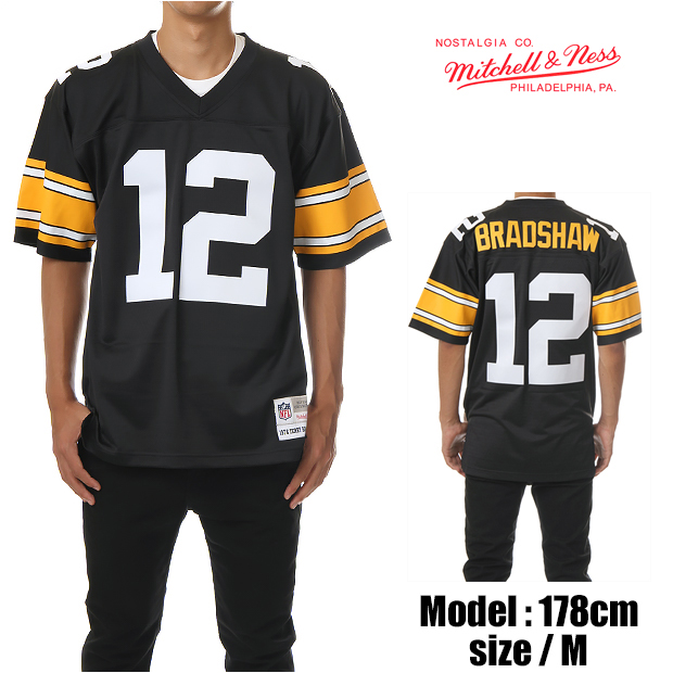 new concept 6346a 3f1bc MITCHELL &NESS football shirts Mitchell & Ness football shirts shirts  JERSEY jerseys Football Jersey STEELERS Pittsburgh Steelers (black)  MITCHELL ...