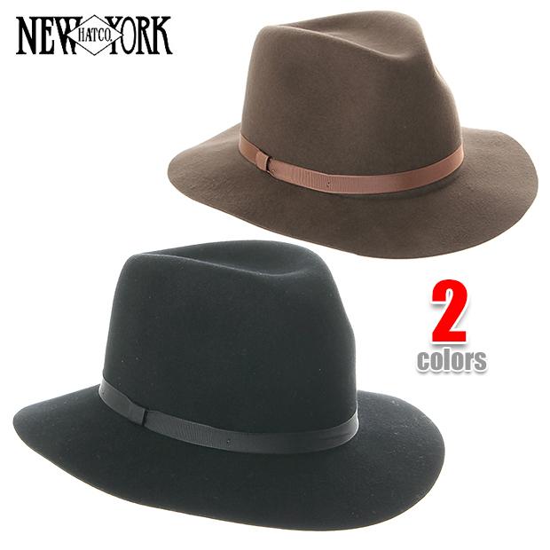 NEW YORK HAT ニューヨークハット ハット 中折れ ハット HOMESTEAD ホームステッド NEWYORK HAT メンズ レディース フェルト