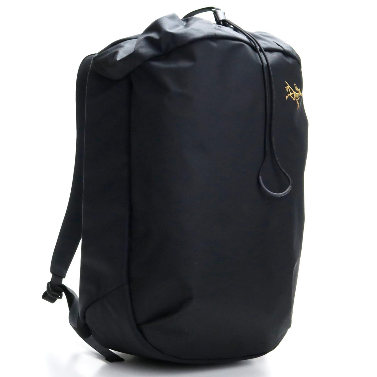 アークテリクス ARCTERYX 24017 アロー20 バケットバッグ リュック バックパック 20L ARRO 20 392325 BUCKET BAG BLK BLACK ブラック メンズ