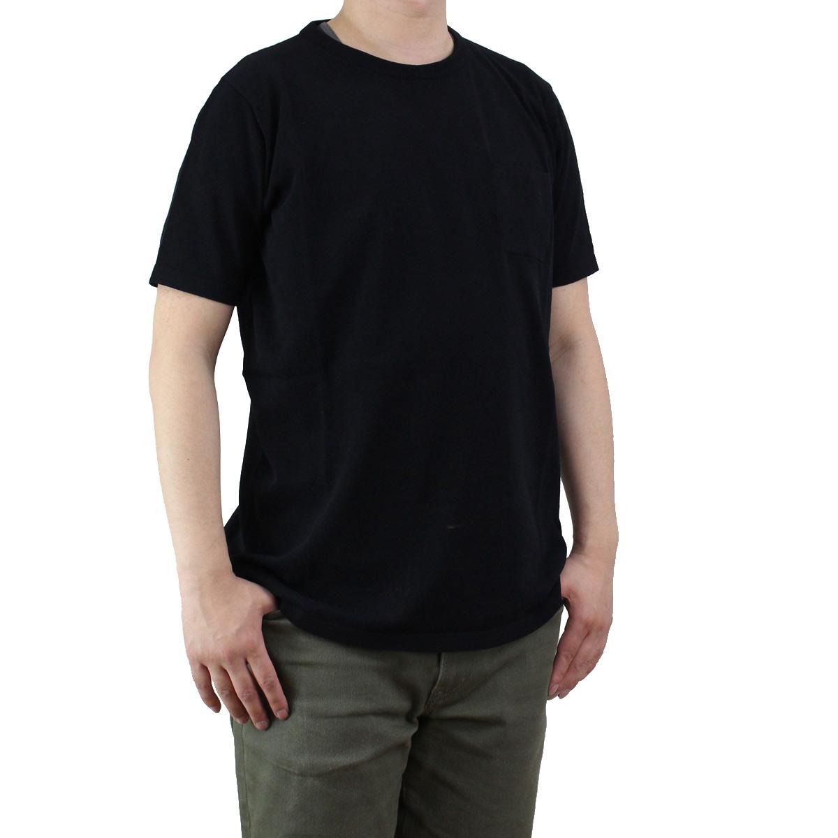 バーク Bark メンズ 半袖 サマー セーター 71B6006 261 BLACK ブラック メンズ【キャッシュレス 5% 還元】 KS-3