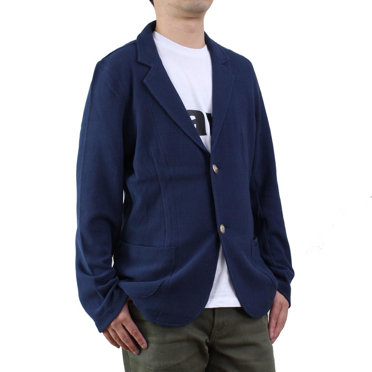 バーク Bark メンズ サマー ジャケット 71B8516 674 OCEAN ブルー系 メンズ