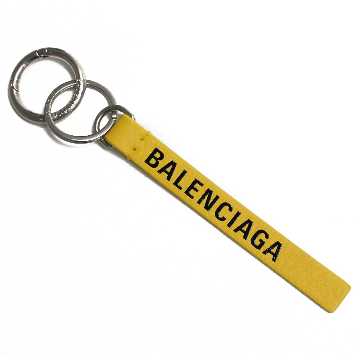 バレンシアガ BALENCIAGA キーリング 551984 DLQ4N 7160 イエロー系 メンズ レディース