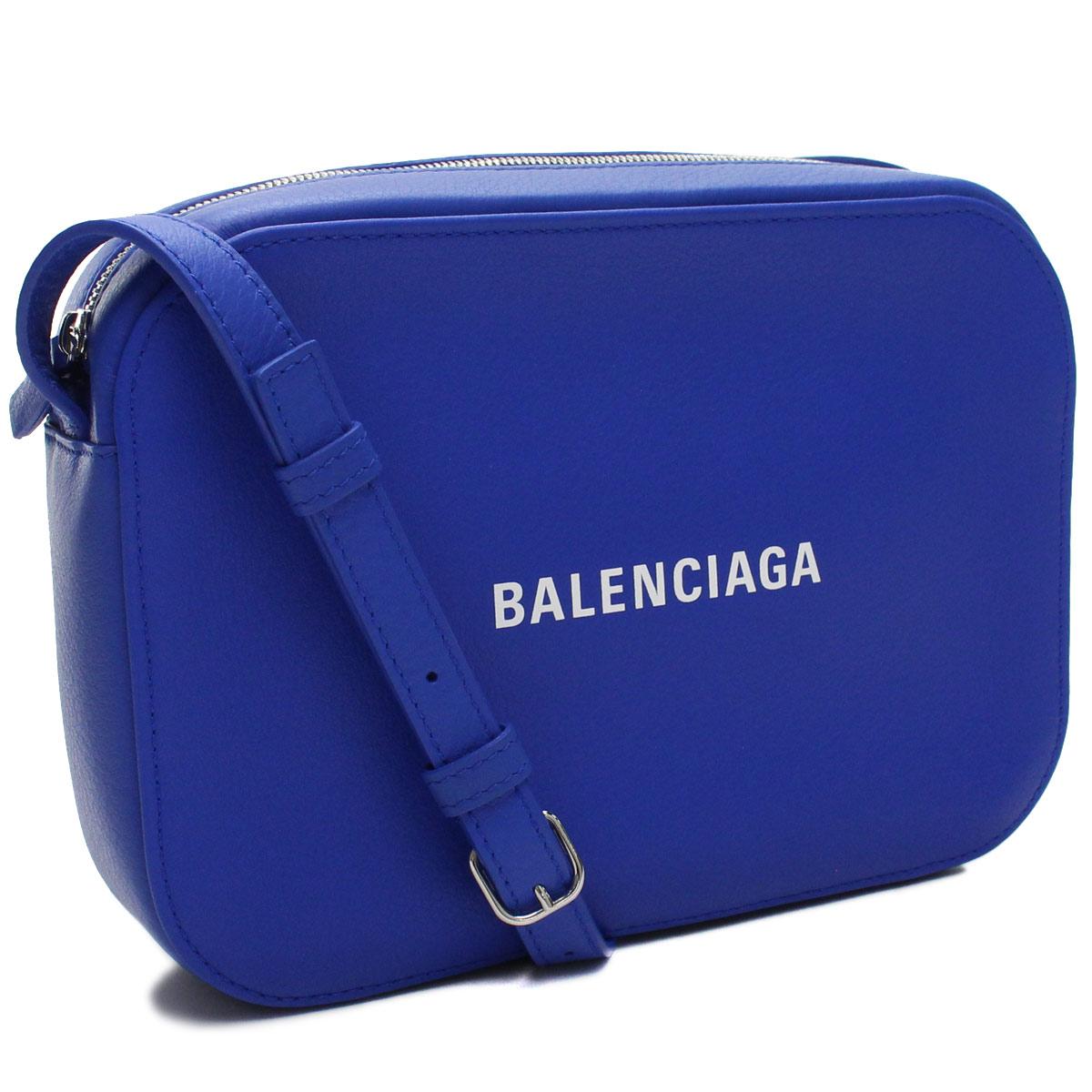 バレンシアガ BALENCIAGA EVERYDAY エブリデイ 斜め掛け ショルダーバッグ 552370 D6W2N 4265 ブルー系 レディース