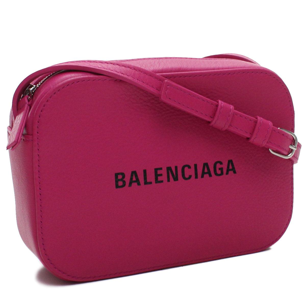 バレンシアガ BALENCIAGA EVERYDAY カメラバッグ XS 斜め掛け ショルダーバッグ 552372 D6W2N 5560 ピンク系 レディース