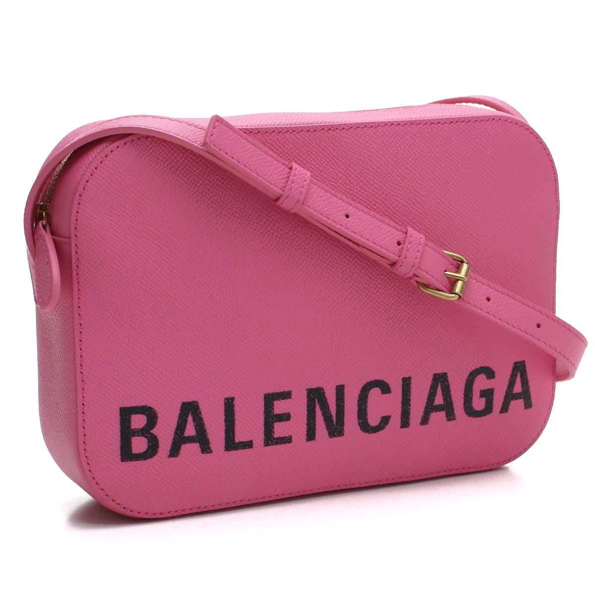 バレンシアガ BALENCIAGA ビル 斜め掛け ショルダーバッグ 558172 0OTDM 5560 ROSE BUBBG/L NOIR ピンク系 レディース
