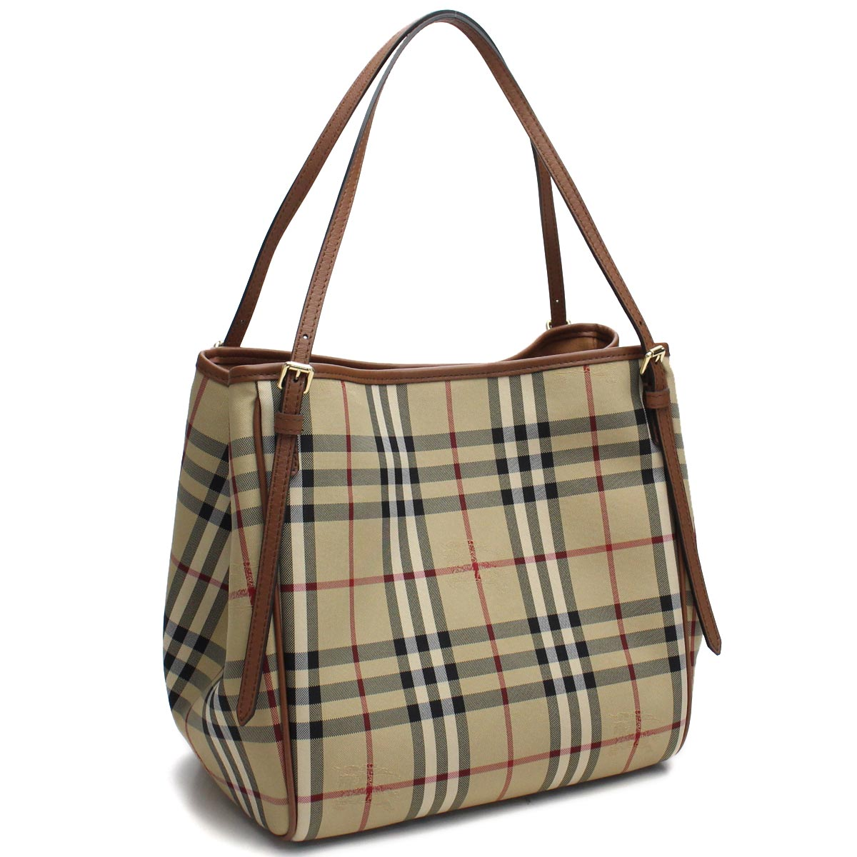 86586000cf Bighit The total brand wholesale: Multicolored of Burberry (BURBERRY) SM CANTER  Burberry check tote bag 4028897 HONEY/TAN Brown line | Rakuten Global Market