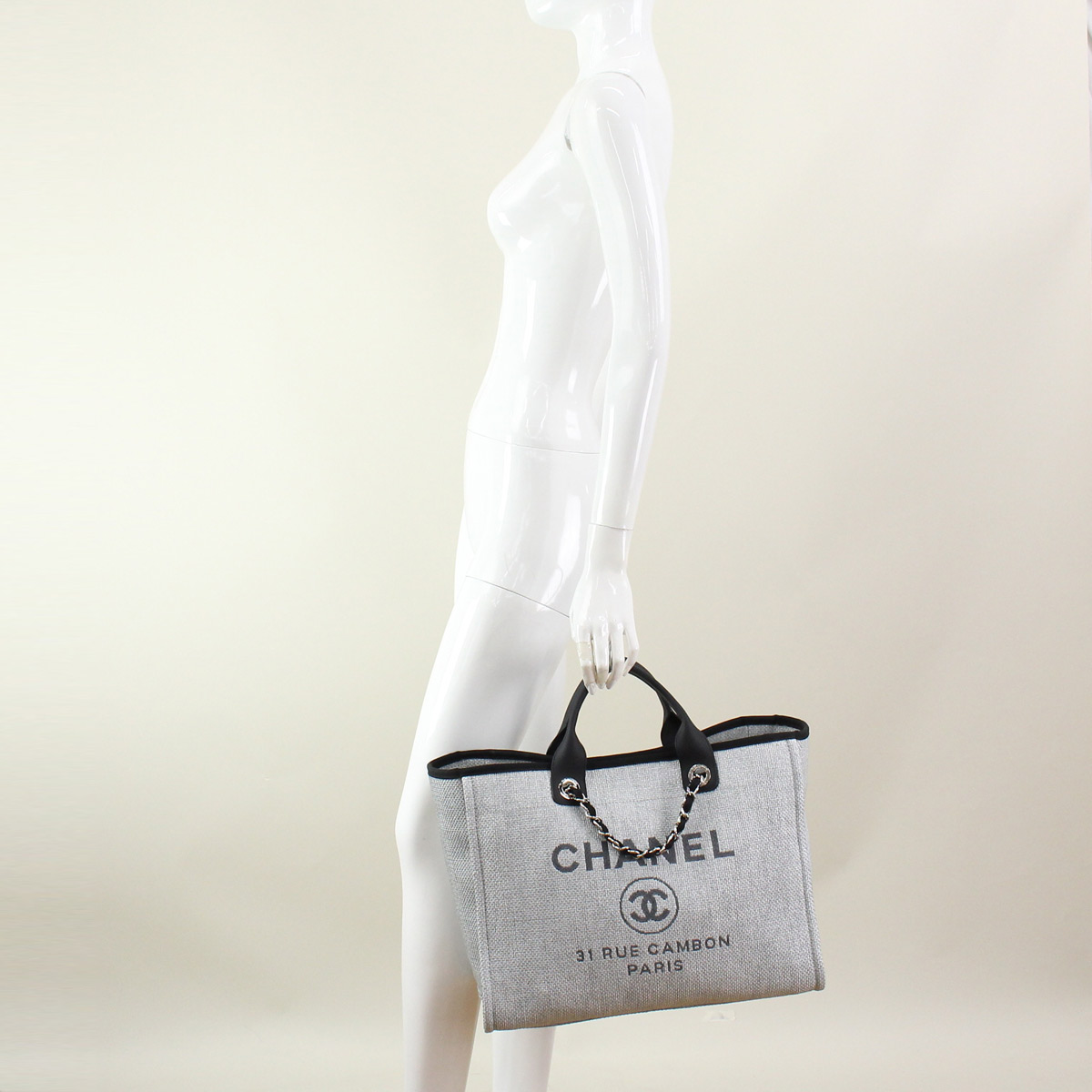 150a7254a90a Chanel tote bag A66941 grey( taxfree send by EMS authentic A brand new item  )